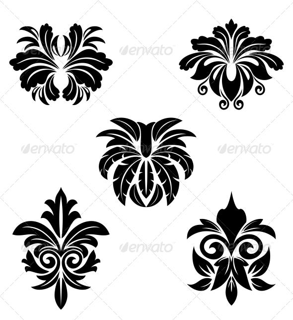 Flower Symbols - Decorative Symbols Decorative
