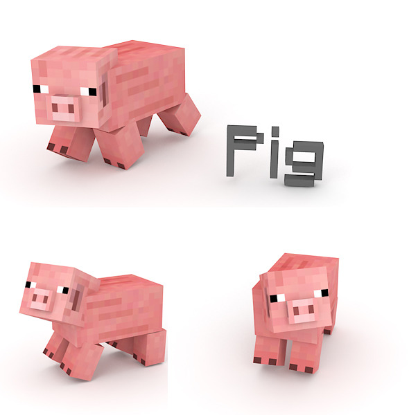 Pig - 3DOcean Item for Sale