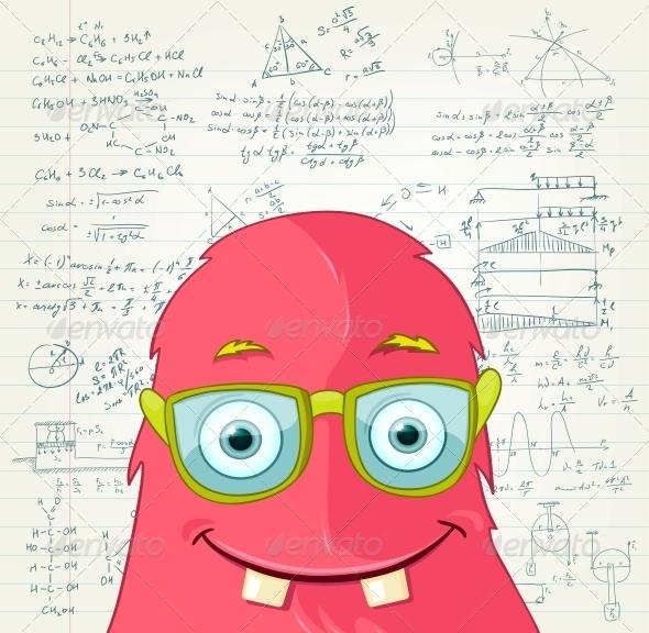 Monster Professor - Monsters Characters