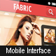 Complete Mobile Interface - E Commerce - GraphicRiver Item for Sale