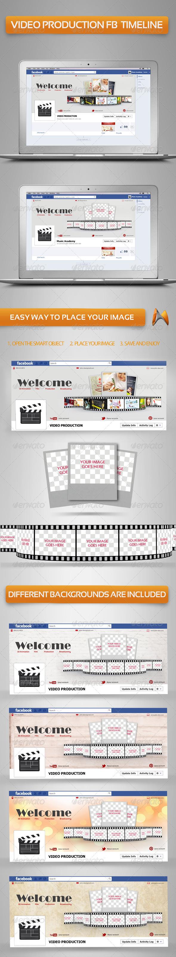 Video production Fb Timeline - Facebook Timeline Covers Social Media