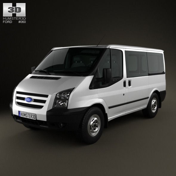Ford Transit Tourneo SWB Low Roof 2012 - 3DOcean Item for Sale