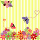 Springtime Flowers with Butterflies - GraphicRiver Item for Sale