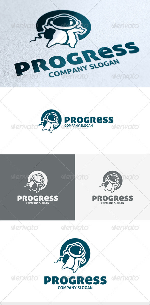 Progress Logo - Humans Logo Templates