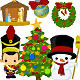 Cute Christmas Collection 2 - GraphicRiver Item for Sale