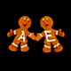 Gingerbread Dancers - Pack of 3 - 393