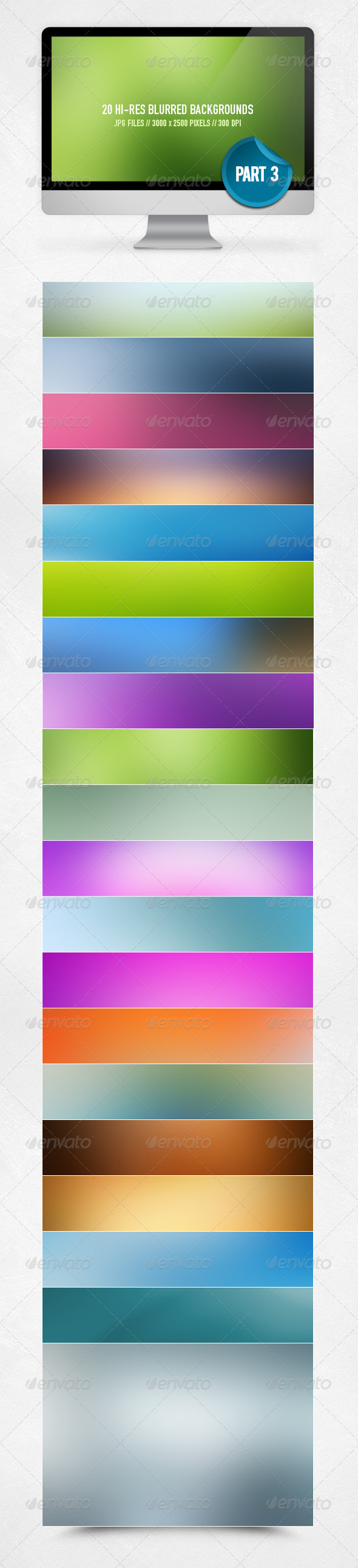 20 Blurred Backgrounds - Part 3 - Backgrounds Graphics