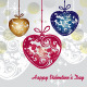 Hearts Decorated Pendants - GraphicRiver Item for Sale