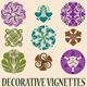 Art Deco Vignettes Set - GraphicRiver Item for Sale