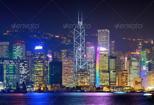 Hong Kong Cityscape - Stock Photo - Images