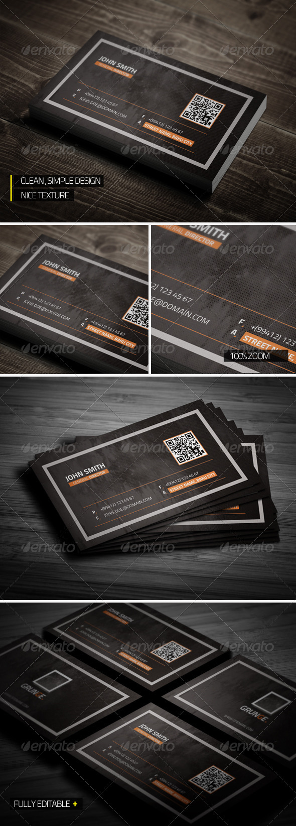 Grunge Business Card - Grunge Business Cards