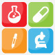 Chemistry Icons - GraphicRiver Item for Sale
