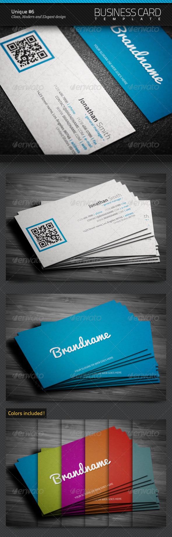 Unique Business Card #6 - Corporate Business Cards