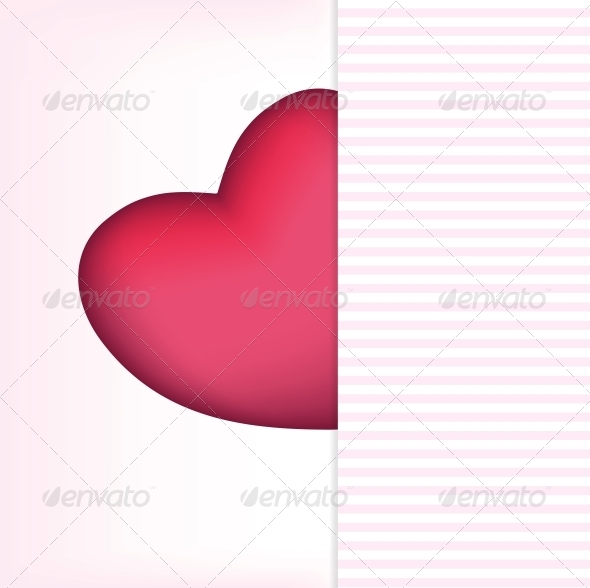 Valentines Day Card - Vector - Backgrounds Decorative