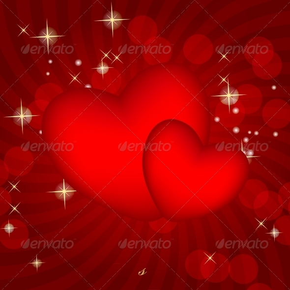 Valentines Day Card - Vector - Valentines Seasons/Holidays
