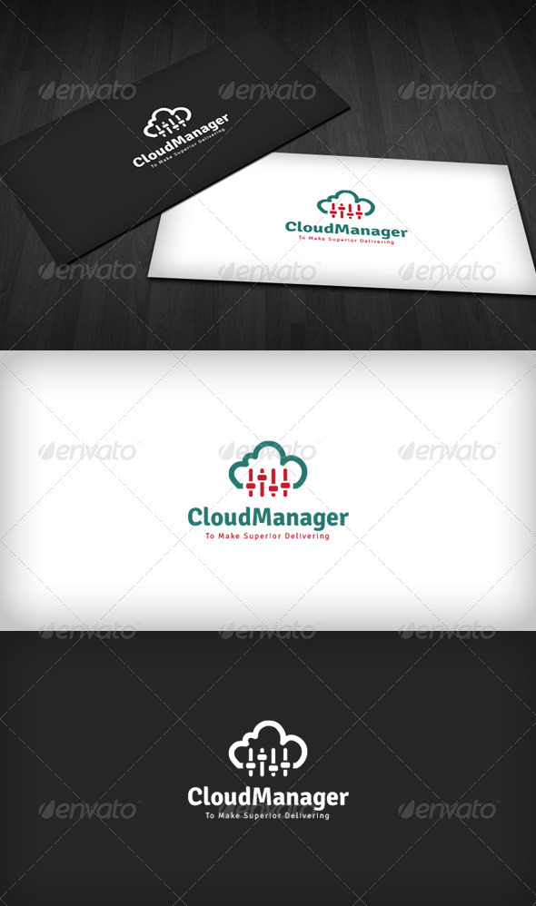 Cloud Manager Logo - Symbols Logo Templates
