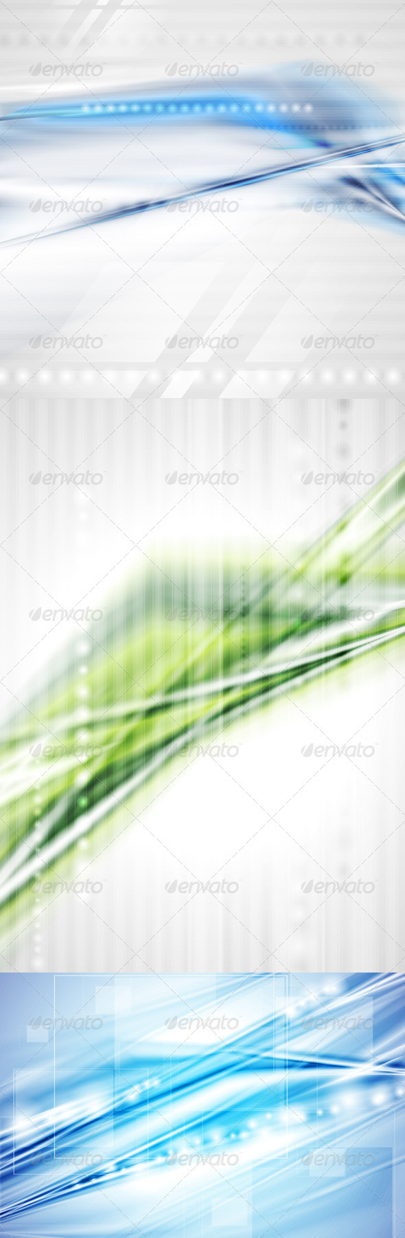 Abstract Modern Technical Backgrounds - Backgrounds Decorative