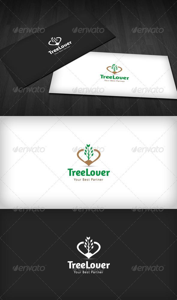 Tree Lover Logo - Nature Logo Templates