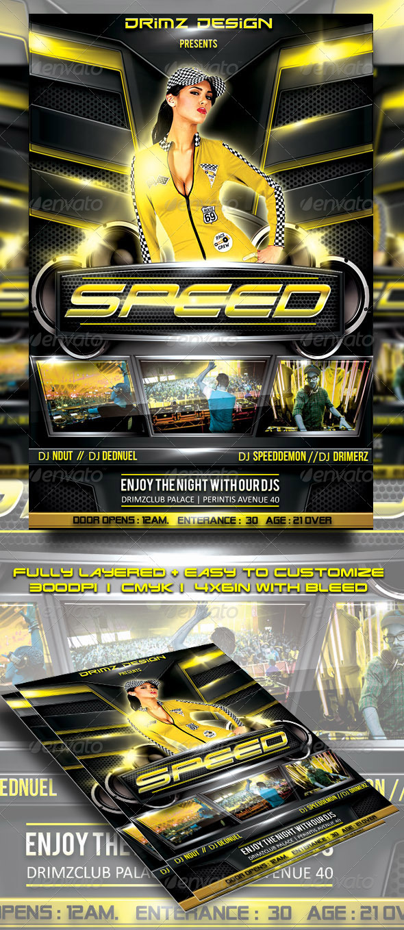 Speed Flyer - Events Flyers