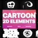 2D Cartoon Elements | Motion Graphics Pack - VideoHive Item for Sale