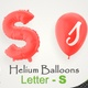 Balloons With Letter – S - VideoHive Item for Sale