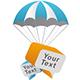 Parachute Bubble & Arrow   - GraphicRiver Item for Sale