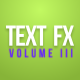 Text Fx Vol.3 - VideoHive Item for Sale