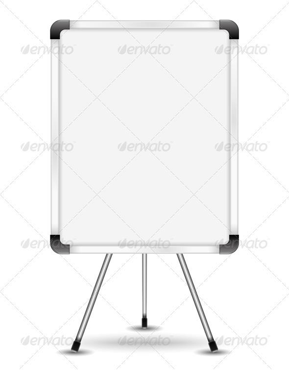 Flip Chart - Man-made Objects Objects