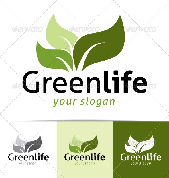 Greenlife Logo - Nature Logo Templates