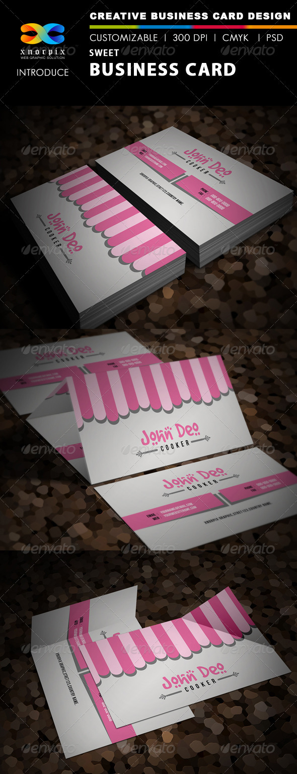 Sweet business card graphics designs templates colourmoves