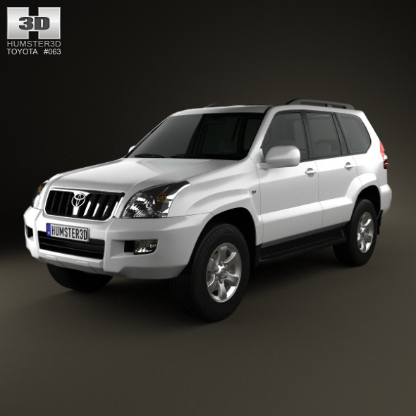 Toyota Land Cruiser Prado (120) 5-door 2009