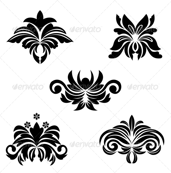 Flower Symbols - Decorative Symbols Decorative