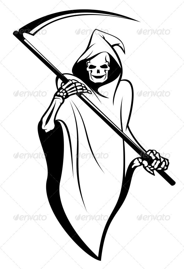 Death Sign - Tattoos Vectors
