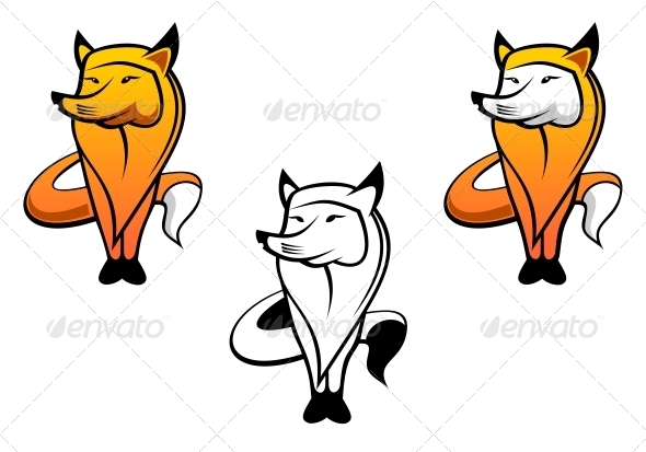 Red Fox - Animals Characters