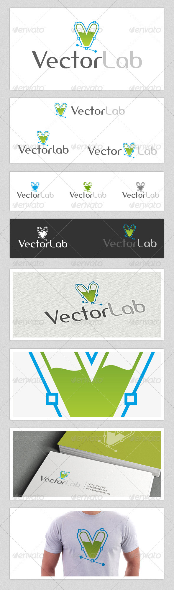 Vector Lab Logo - Letters Logo Templates