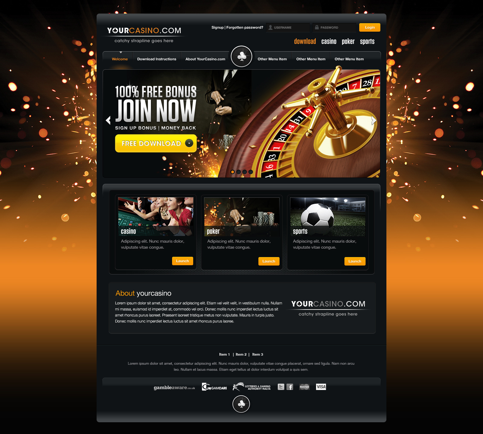 no deposit casino free sign up cash
