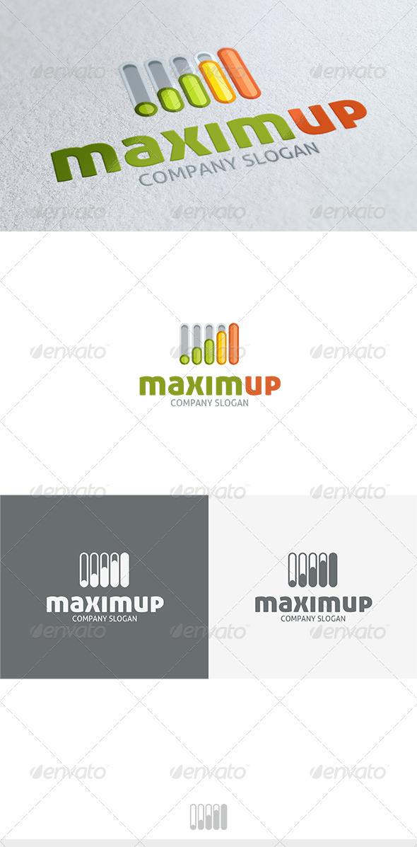 Maxim Up Logo - Symbols Logo Templates