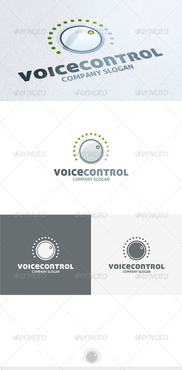 Voice Control Logo - Objects Logo Templates