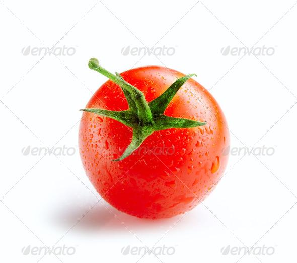 fresh tomato - Stock Photo - Images