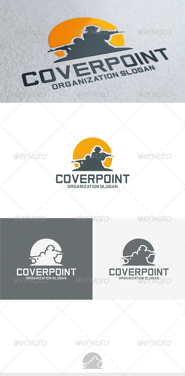 Cover-Point Logo - Humans Logo Templates