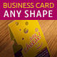 Any Shape Business Card Mockups - GraphicRiver Item for Sale