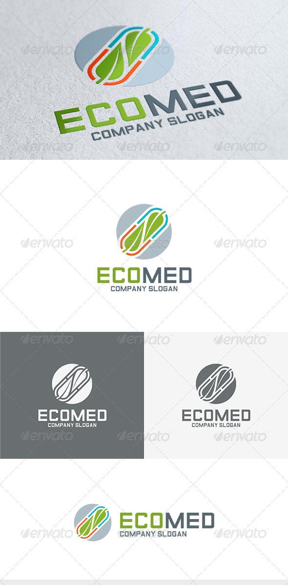 Eco Med Logo - Nature Logo Templates