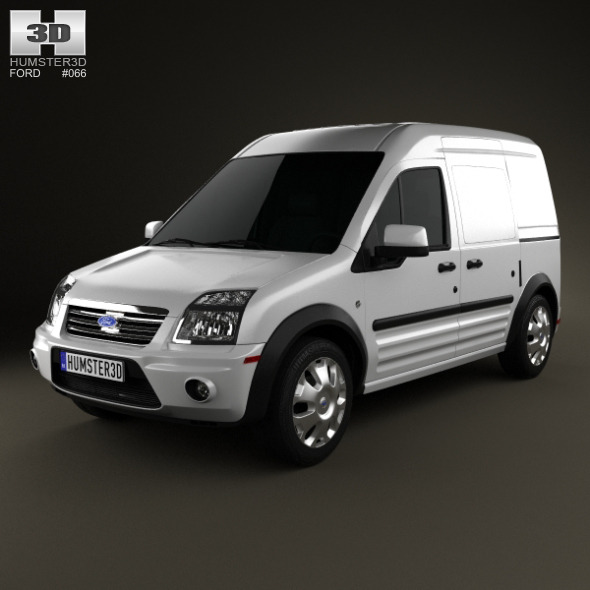 Ford Transit Connect LWB 2012 - 3DOcean Item for Sale