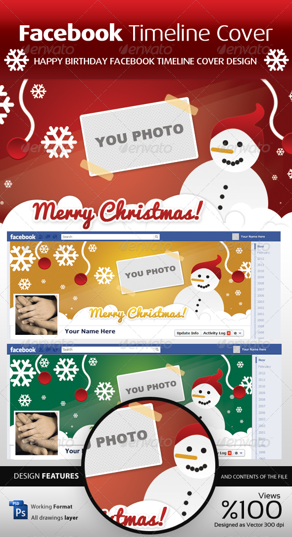 FB Christmas Timeline Cover - Facebook Timeline Covers Social Media