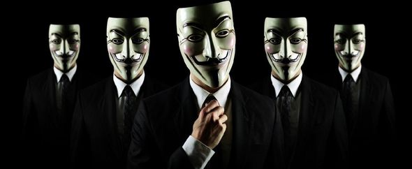 Anonymous masked