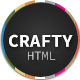 Crafty - Responsive Retina-ready HTML Template - ThemeForest Item for Sale