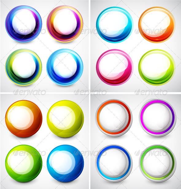 Vector Swirl Set - Decorative Symbols Decorative