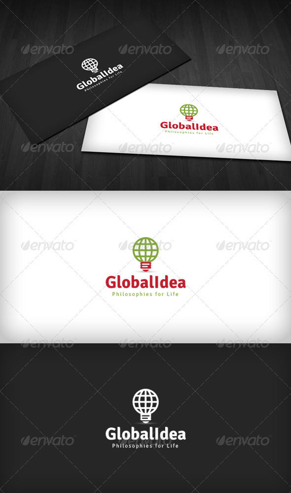 Global Idea Logo - Symbols Logo Templates
