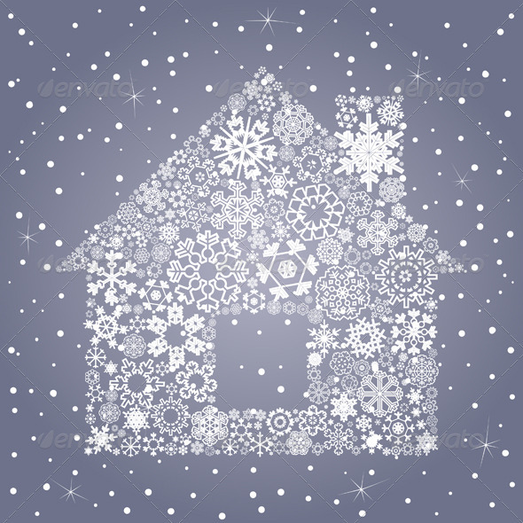 House Made of Snowflakes - Buildings Objects