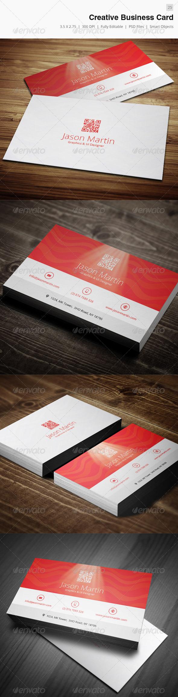 Creative Business Card - 25 - Creative Business Cards